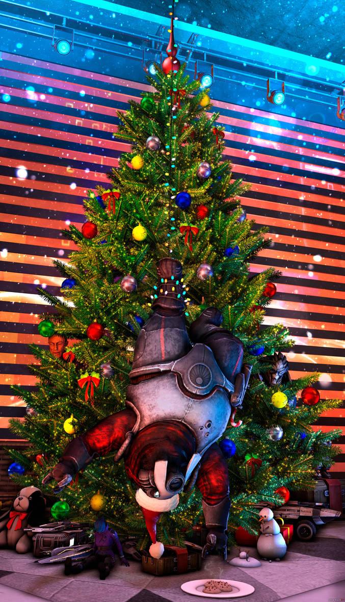 Holiday catch|Mass Effect by Shaman94