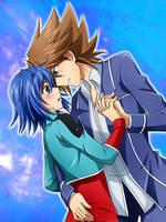 Kai and Aichi by Kuwano73