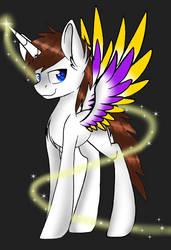 My OC Light by flashsparklee