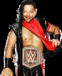 Shinsuke Nakamura - WWE CHAMPION by mikelshehata