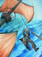 A pirate's Escape by bonbon3272