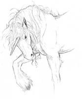 Unicorn Sketch by bonbon3272