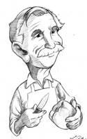 Papa Caricature by bonbon3272