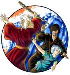 Thieves' Guild Trio Complete by bonbon3272