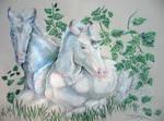Unicorn Foals by bonbon3272