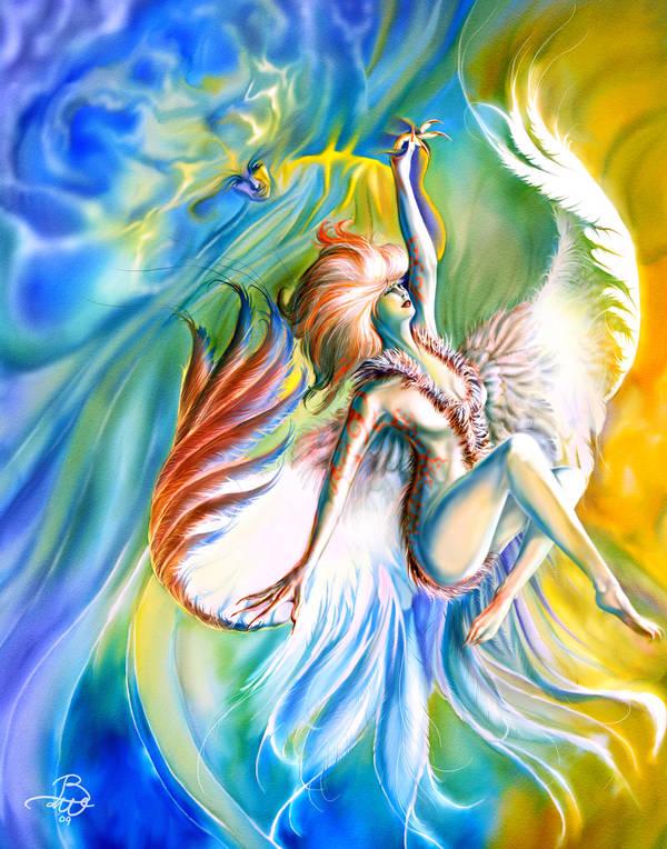 Dance of the Firebird by bonbon3272