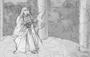 Merioneous Sketch4 by bonbon3272