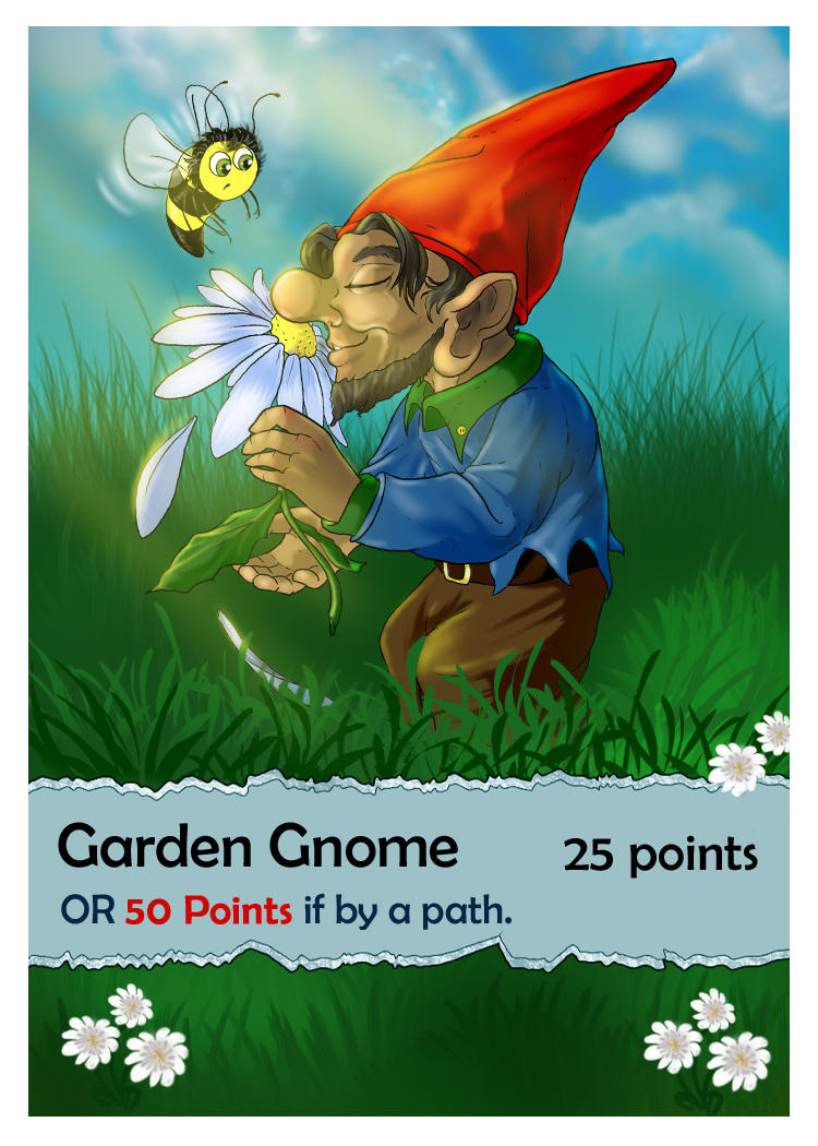 Garden Gnome - Card Game Commission by bonbon3272