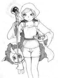 Vagante Mage and Fairy by Ko-ha-i