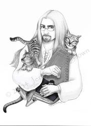 Marc Gunn, Cat Lover 09-06-04 by Skyejcb