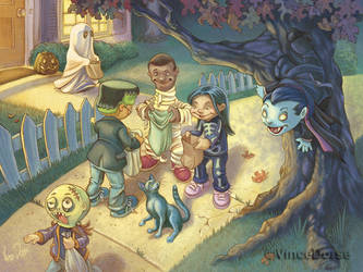 Night of the Little Dead by VinceDorse