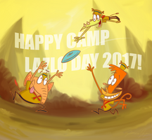 Happy Camp Lazlo Day 2017 by Netaro