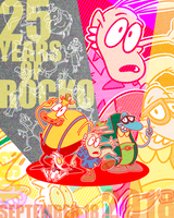 Happy Rocko Day 2018 by Netaro