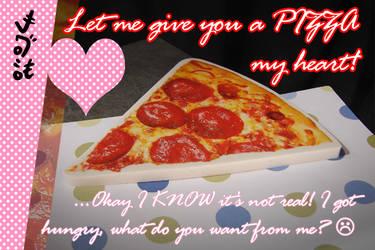 V-Day Card 2019: Pizza by Netaro