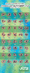 Unnamed Alphabet: Irregular 1 by Netaro