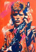 David Bowie by Bowiemaniac