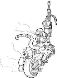 Biker Badass by serrisd