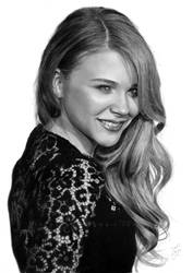 Chloe Grace Moretz II. pencil drawing by Thubakabra