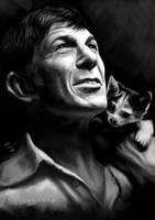 Leonard Nimoy -- Good bye, Mr. Spock! by Thubakabra