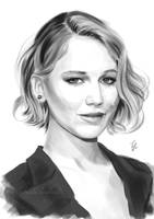 Jennifer Lawrence by Thubakabra