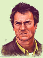 Clint Eastwood by Thubakabra