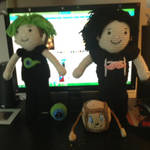 Mark and Jack Custom Crochet Dolls by CTG22