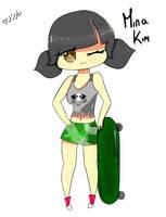 Mina Kim by ArashiSamaa