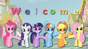 Wallpaper Mane6 Welcome you by Barrfind