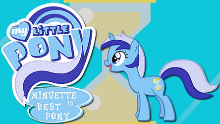 Wallpaper Minuette is best pony by Barrfind