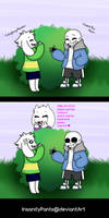 Toriel approves by InsanityPants