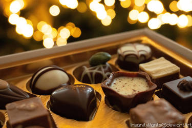 chocolate candy by InsanityPants