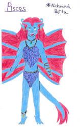 Gargoyles OC Pisces by Hawkheart29