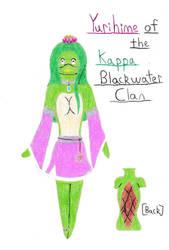 TMNT OC Yurihime Of The Kappa Blackwater Clan by Hawkheart29