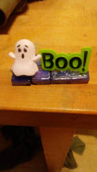 Ghost Says 'Boo!' by Hawkheart29