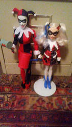 Harley And Quinn by Hawkheart29