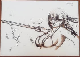 Erza Scarlet - Fairy Tail by ArTestor