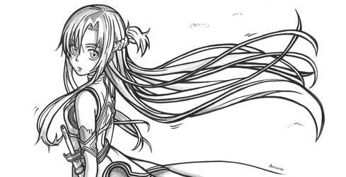 Asuna Yuuki | Sword Art Online by ArTestor