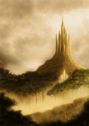 the elven kingdom by hillfreak
