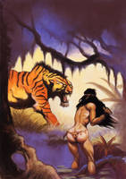 frank frazetta tribute1 by hillfreak