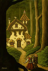 hansel and gretel by hillfreak