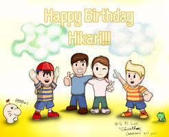 Happy Birthday Hikari by JonCausith
