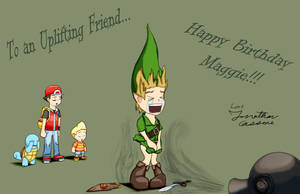 Happy Birthday Lady-of-Link by JonCausith