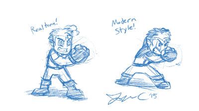 Muxlowe - Style Practice Sketch by JonCausith