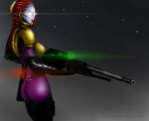 Welcome Home Tali'Zorah vas Normandy by T1gerius