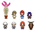 More Zelda sprites by Hikolol35