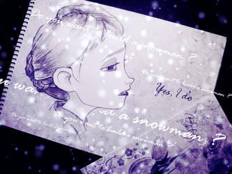 Elsa - Yes I do(cold) by Dante-Liu