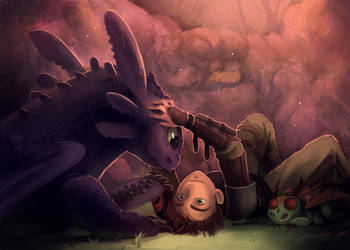 HTTYD - Hictooth by Bambz-Art