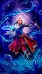 Suikoden 3 - Chris Lightfellow by Bambz-Art