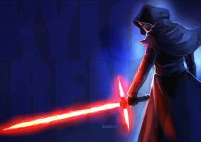 Star Wars - Kylo Ren by Bambz-Art