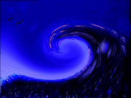 ocean of blue by Furrymuscle